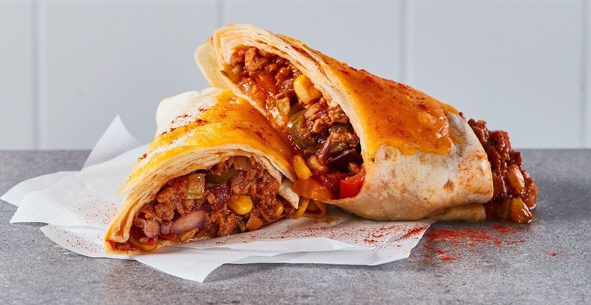 Tortillas mexicain végétarien – Recette