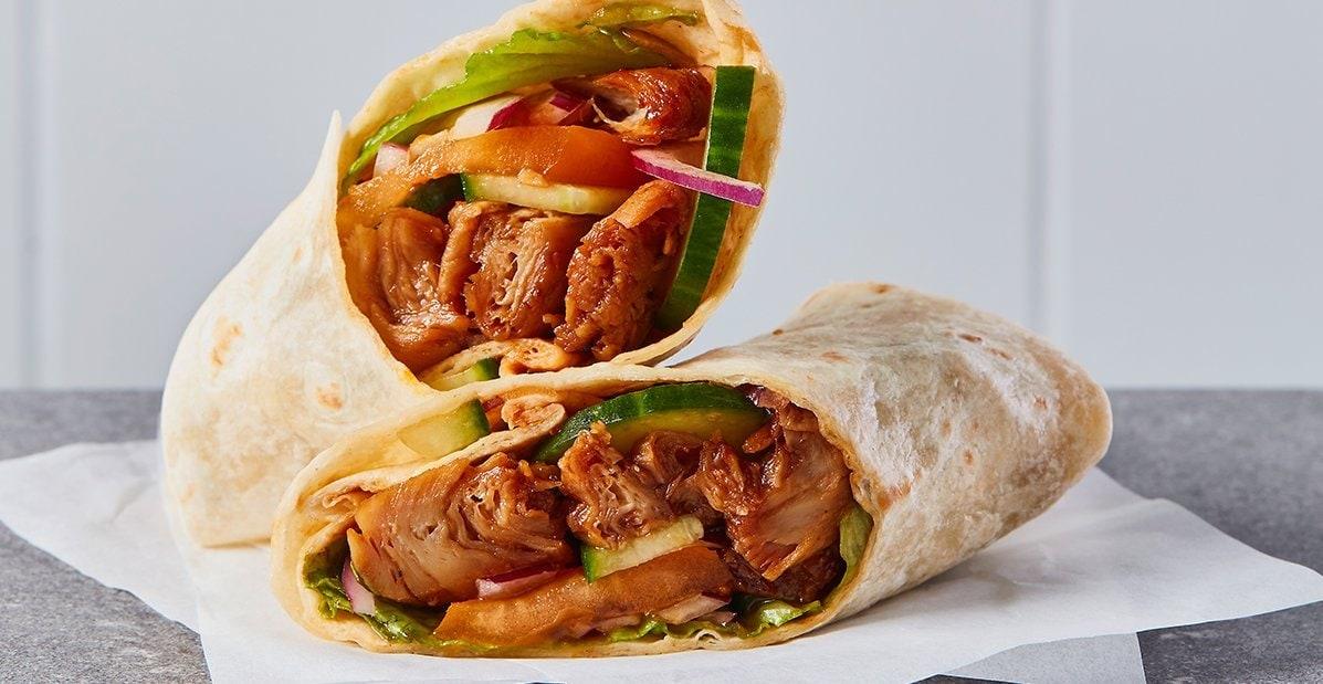 Wrap Mexicain végétarien sauce BBQ – Recette