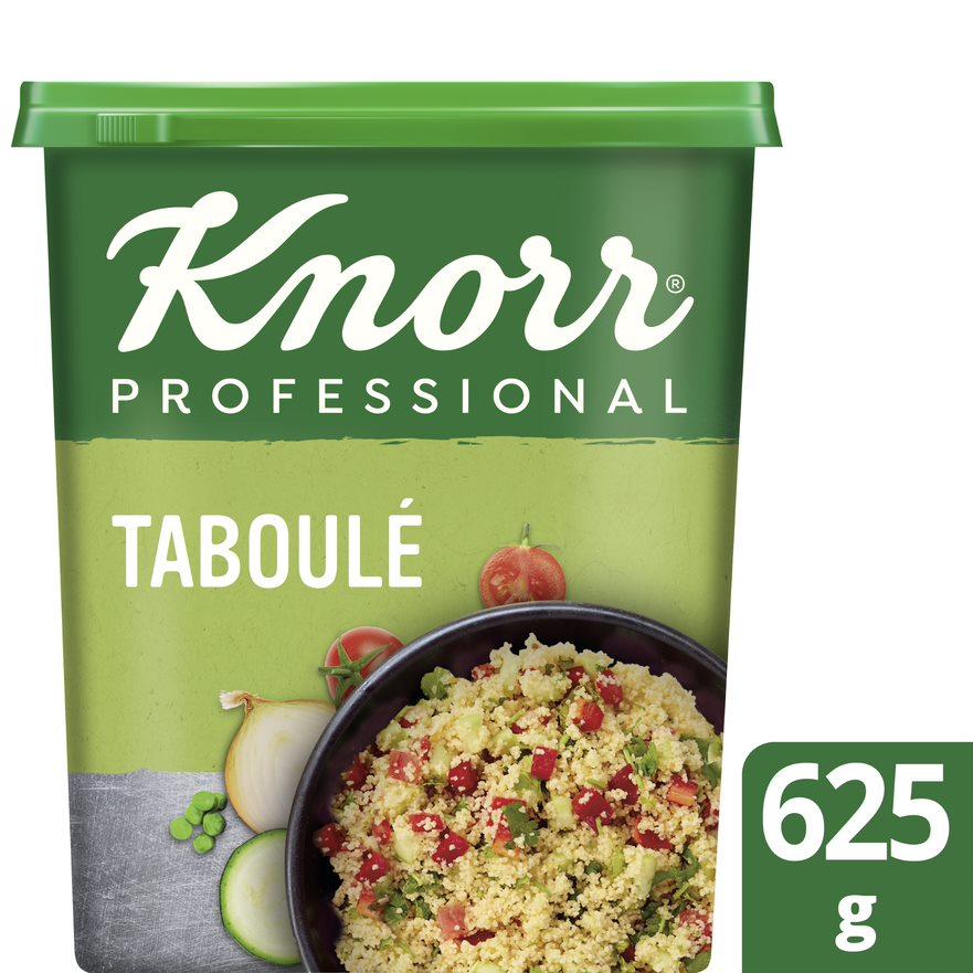 Knorr Professional Préparation pour taboulé 20 portions - Proposez à vous convives des plats goûteux, faciles à préparer et rapides à mettre en œuvre