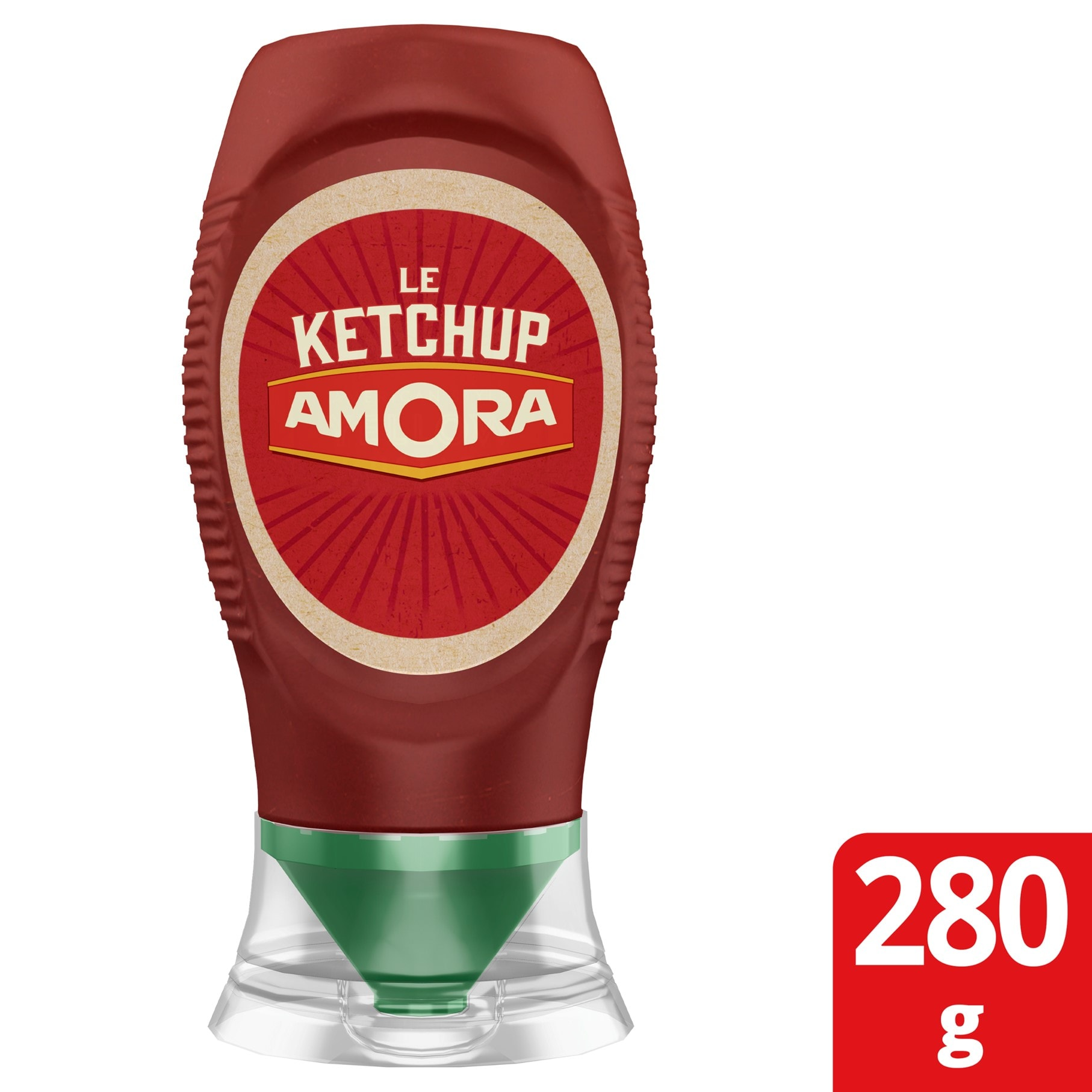 Amora Ketchup mini squeeze 280G -