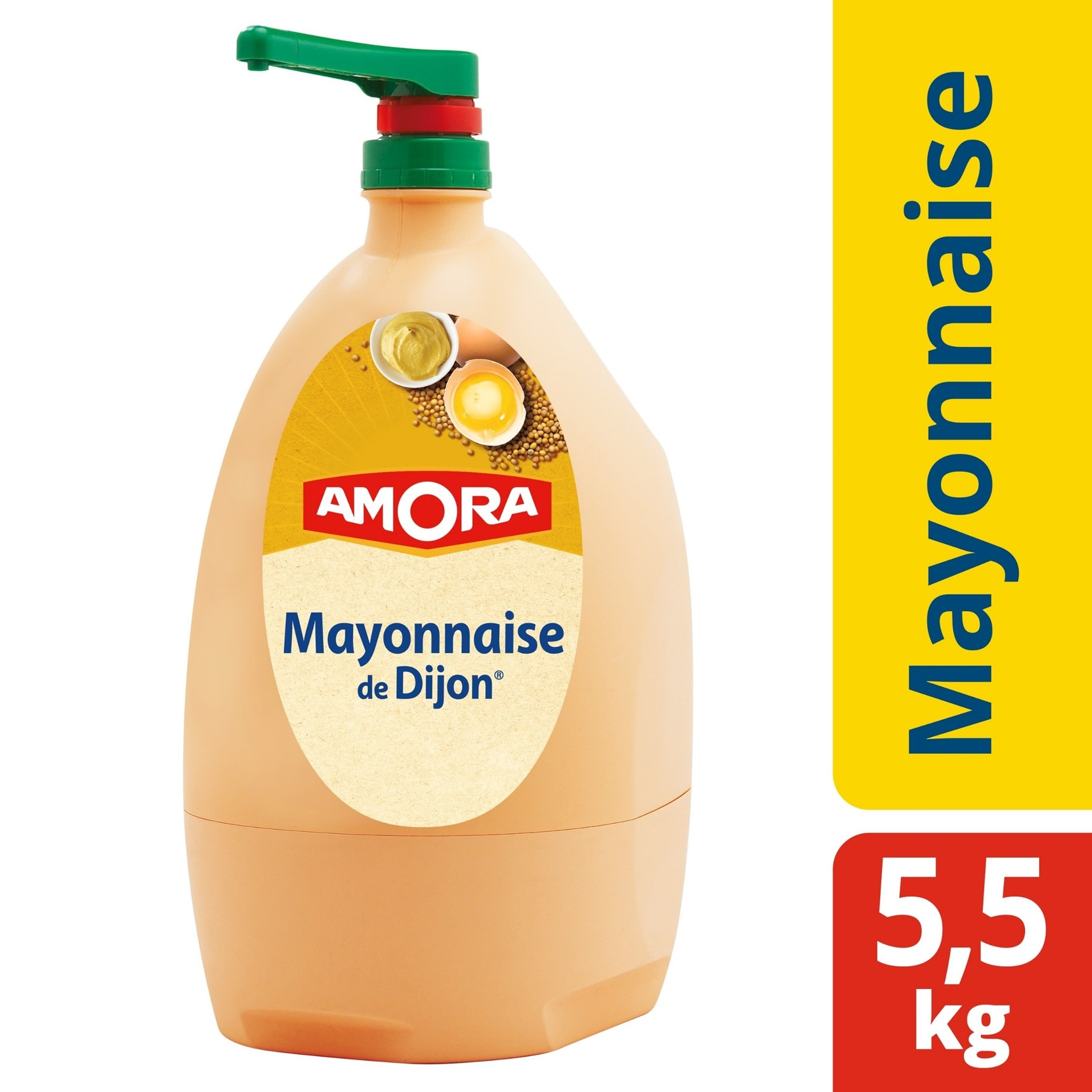 Amora Mayonnaise de Dijon Distributeur Jet Bar 5,5kg -