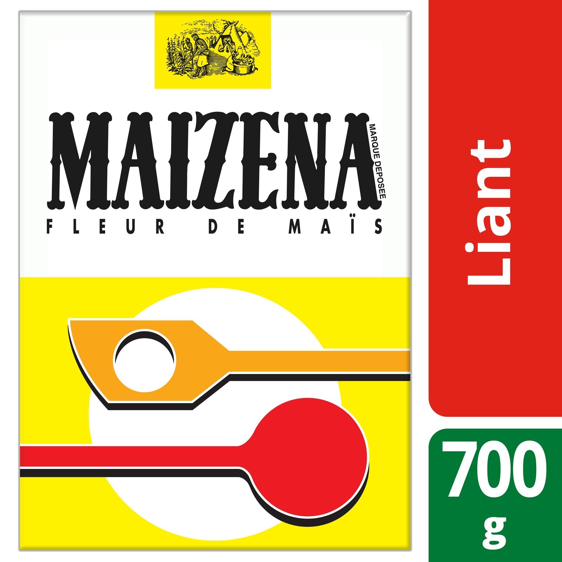 Maizena Fleur de maïs 700g - Avec Fleur de Maïs Maïzena®, allégez vos desserts gourmands.*
