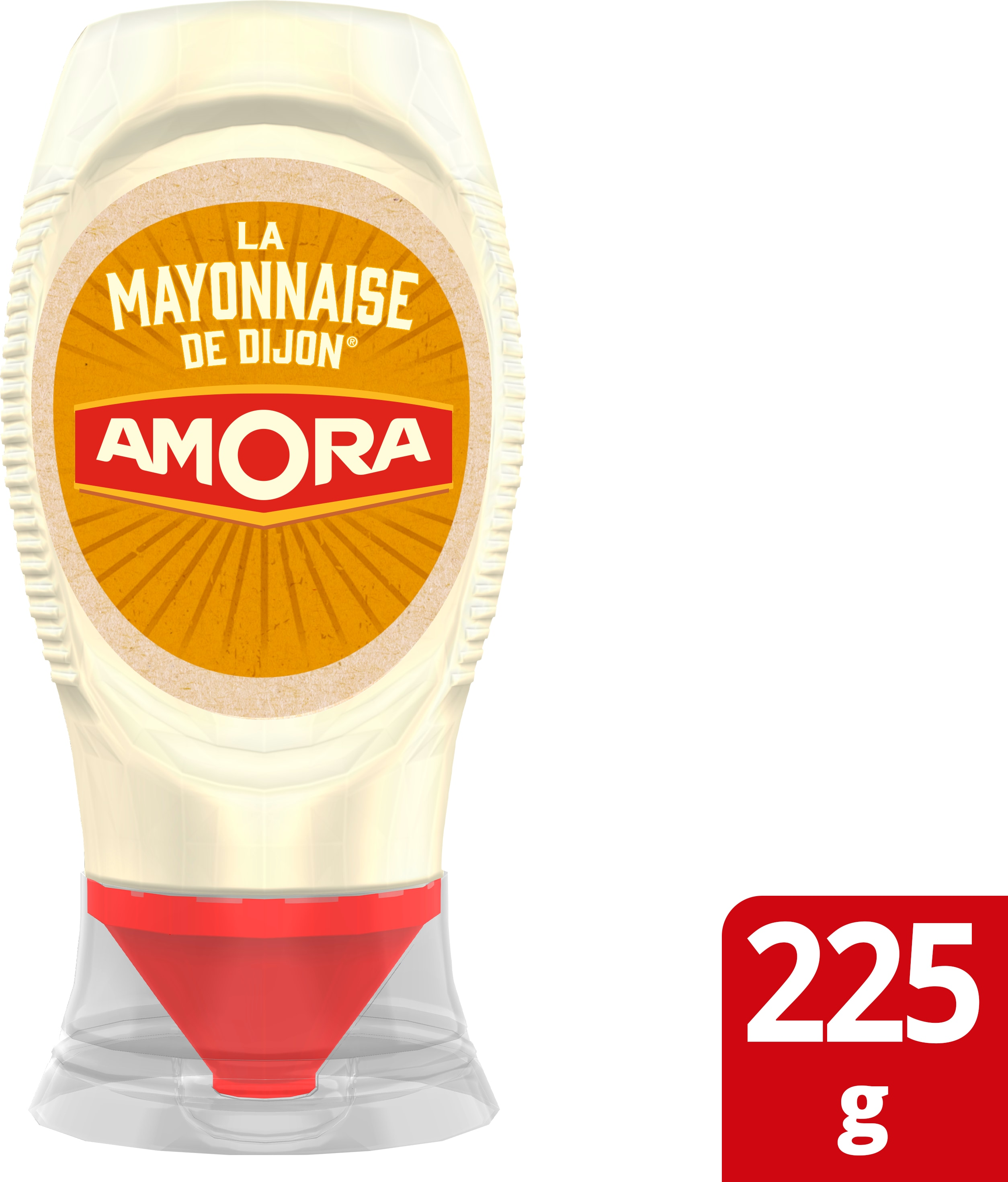 Amora mini squeeze mayonnaise 225g -
